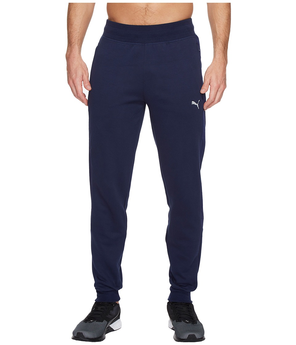 PUMA - Evo Inserts Sweatpants (Peacoat) Men's Casual Pants
