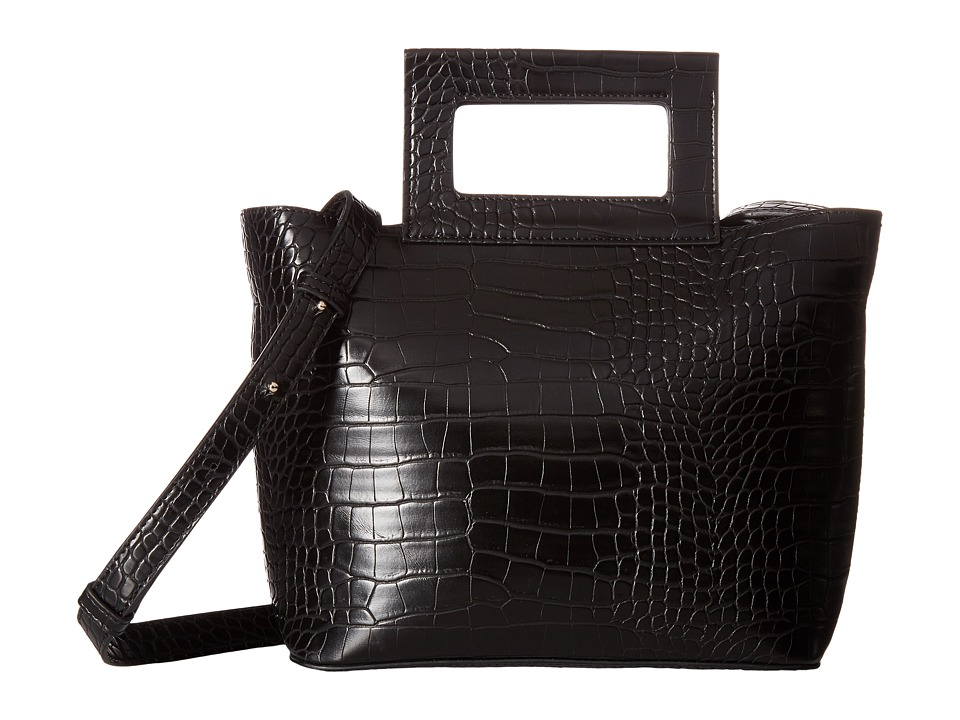 French Connection - Corey Small Tote (Black) Tote Handbags