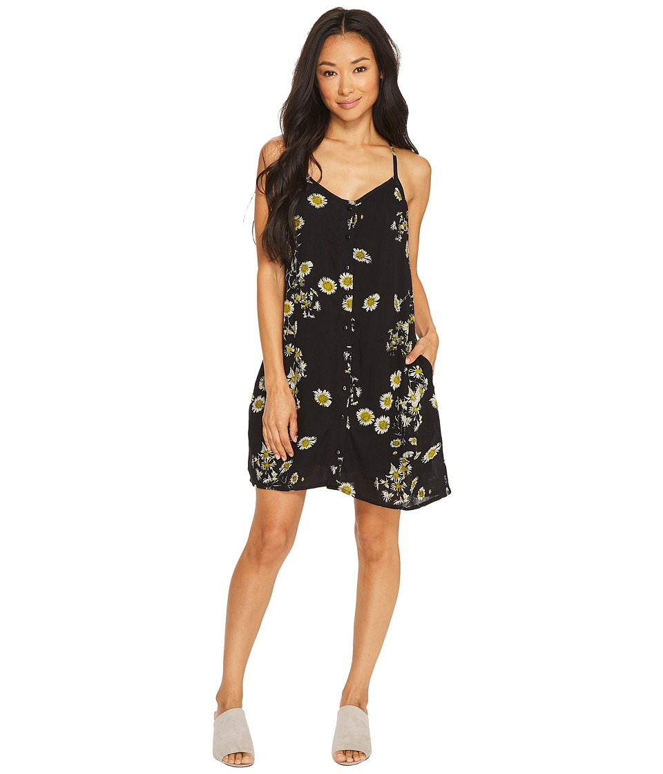 Obey - Hattie Dress (Black Multi) Women's Dress
