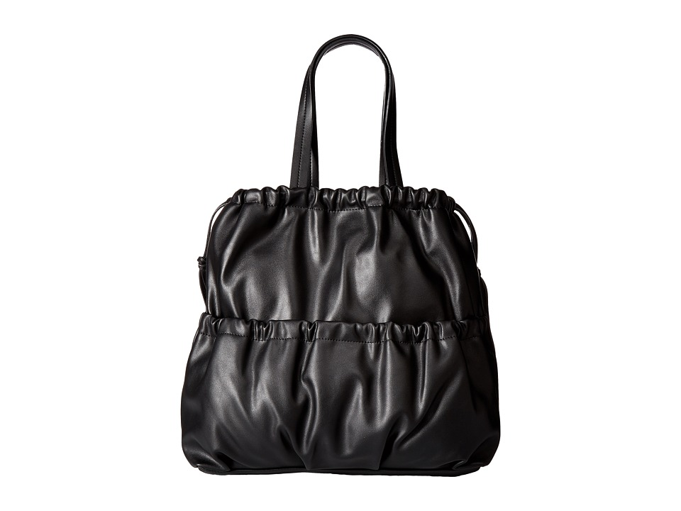French Connection - Dane Drawstring Tote (Black) Tote Handbags