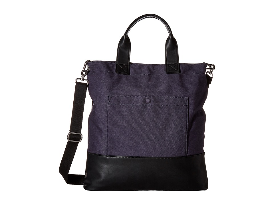 French Connection - Mel Tote (Utility Blue/Black) Tote Handbags