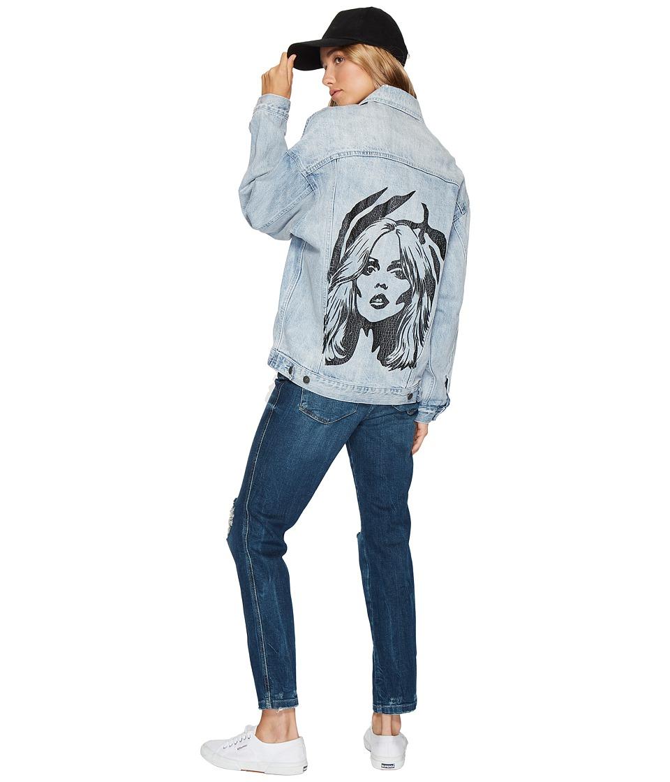 Obey - Tompkins Jean Jacket (Vintage Indigo) Women's Coat