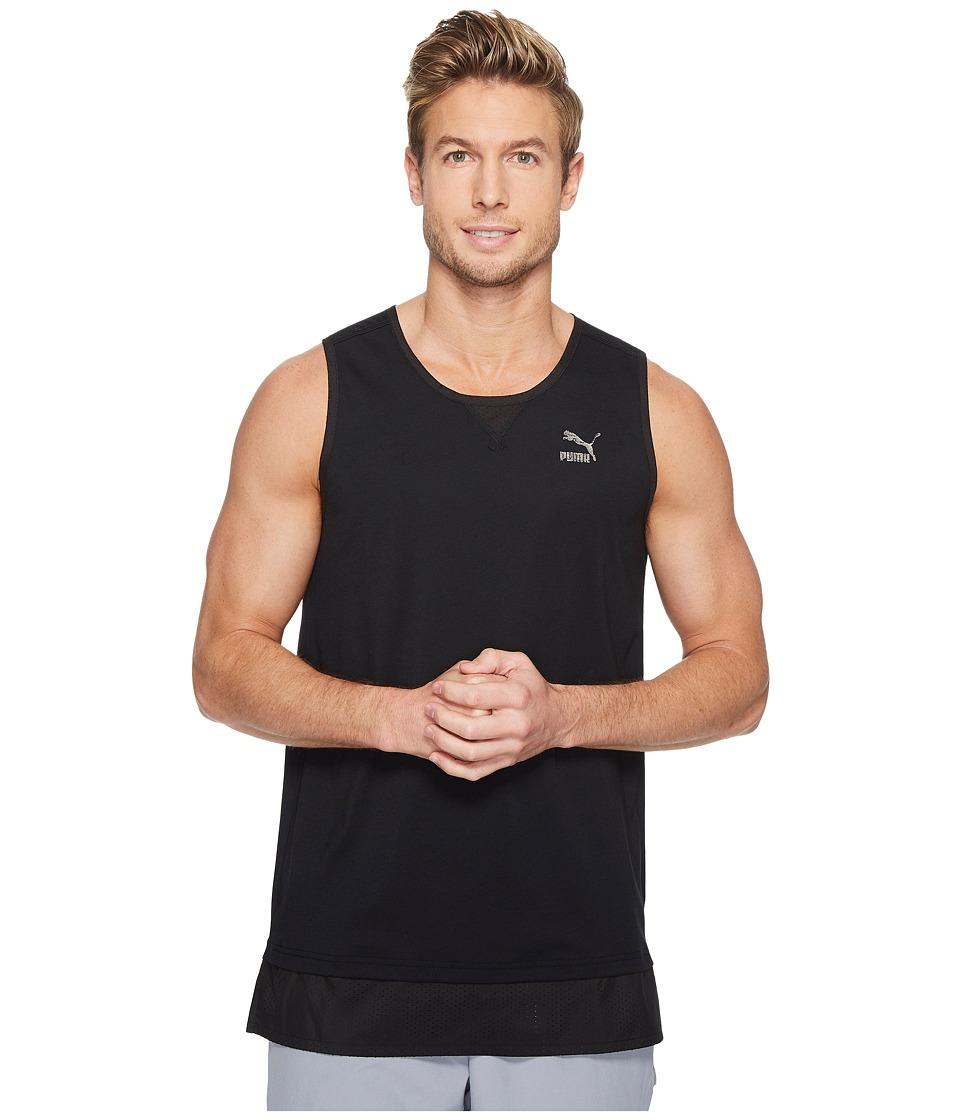 PUMA - Surge Tank Top (Black) Men's Clothing