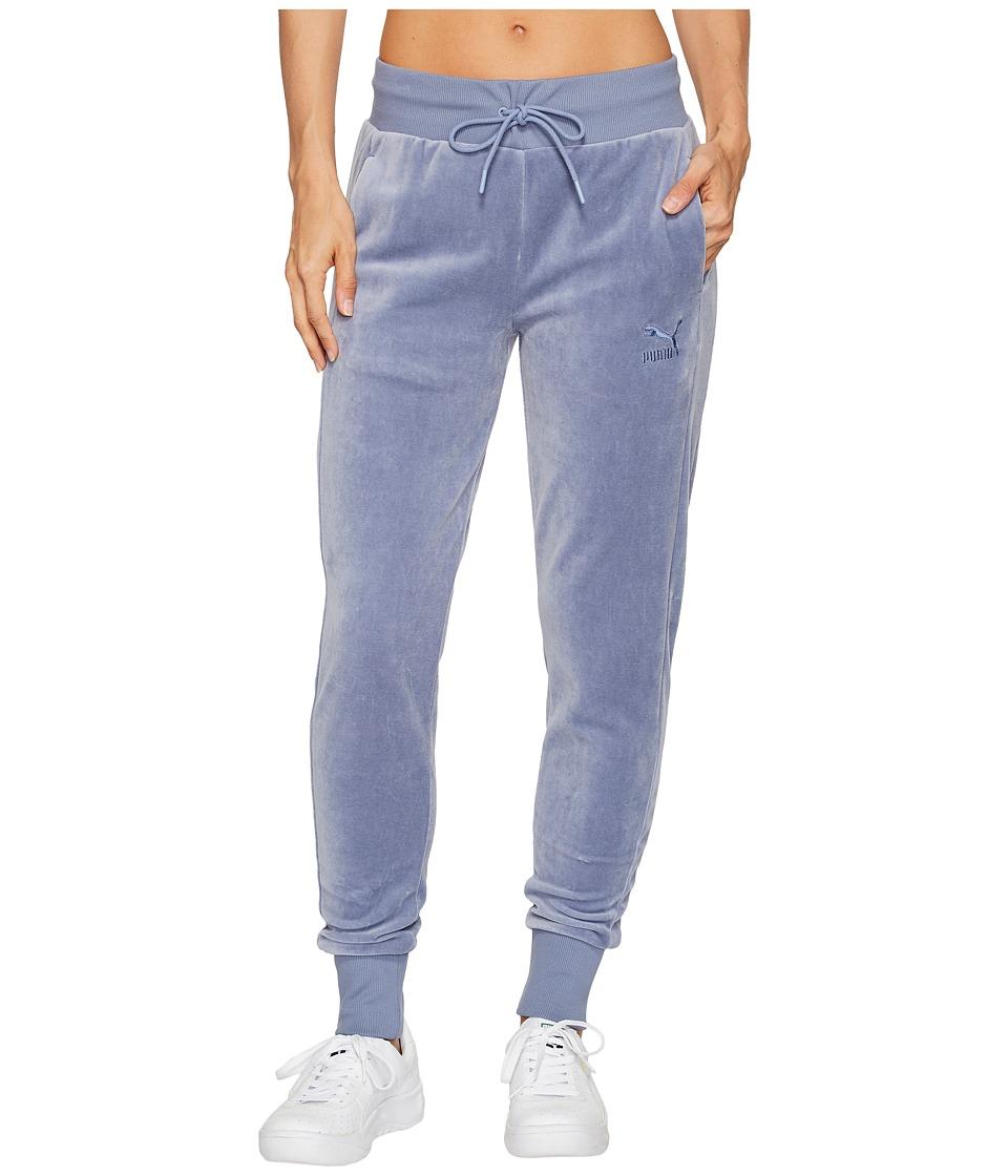 PUMA - Velour T7 Pants (Tempest) Women's Casual Pants