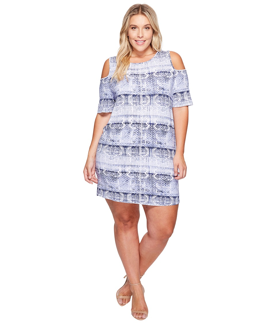 Tart - Plus Size Tabitha Dress (Work Black Print) Women's Dress