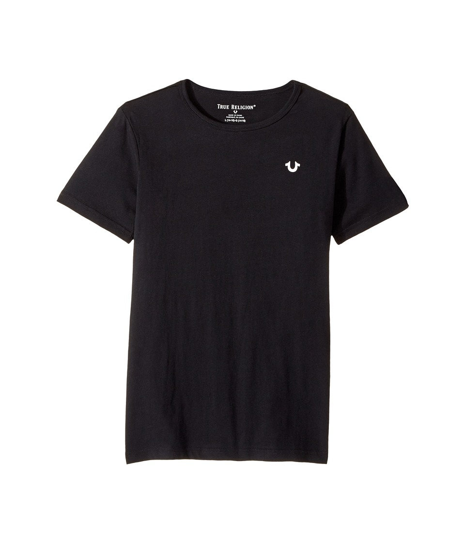 True Religion Kids - Shoestring Horseshoe Tee Shirt (Big Kids) (Black) Boy's T Shirt