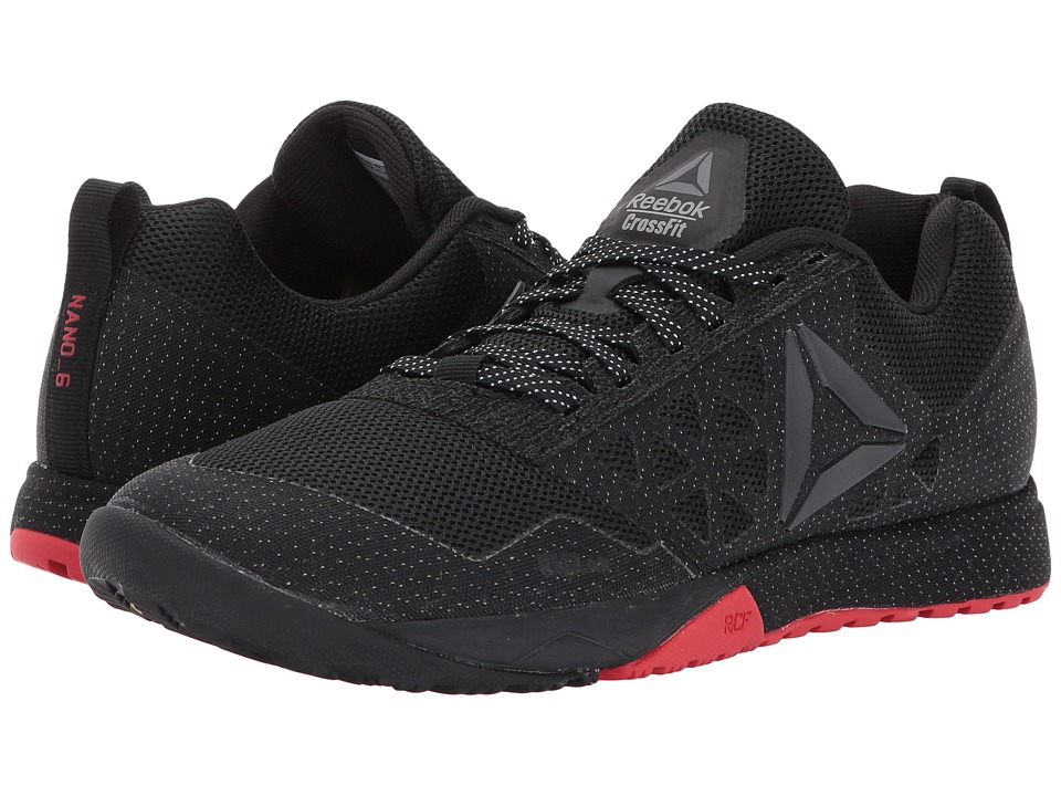Reebok - CrossFit Nano 6.0 CVRT (Stealth/Black/Riot Red/Black) Women's Cross Training Shoes