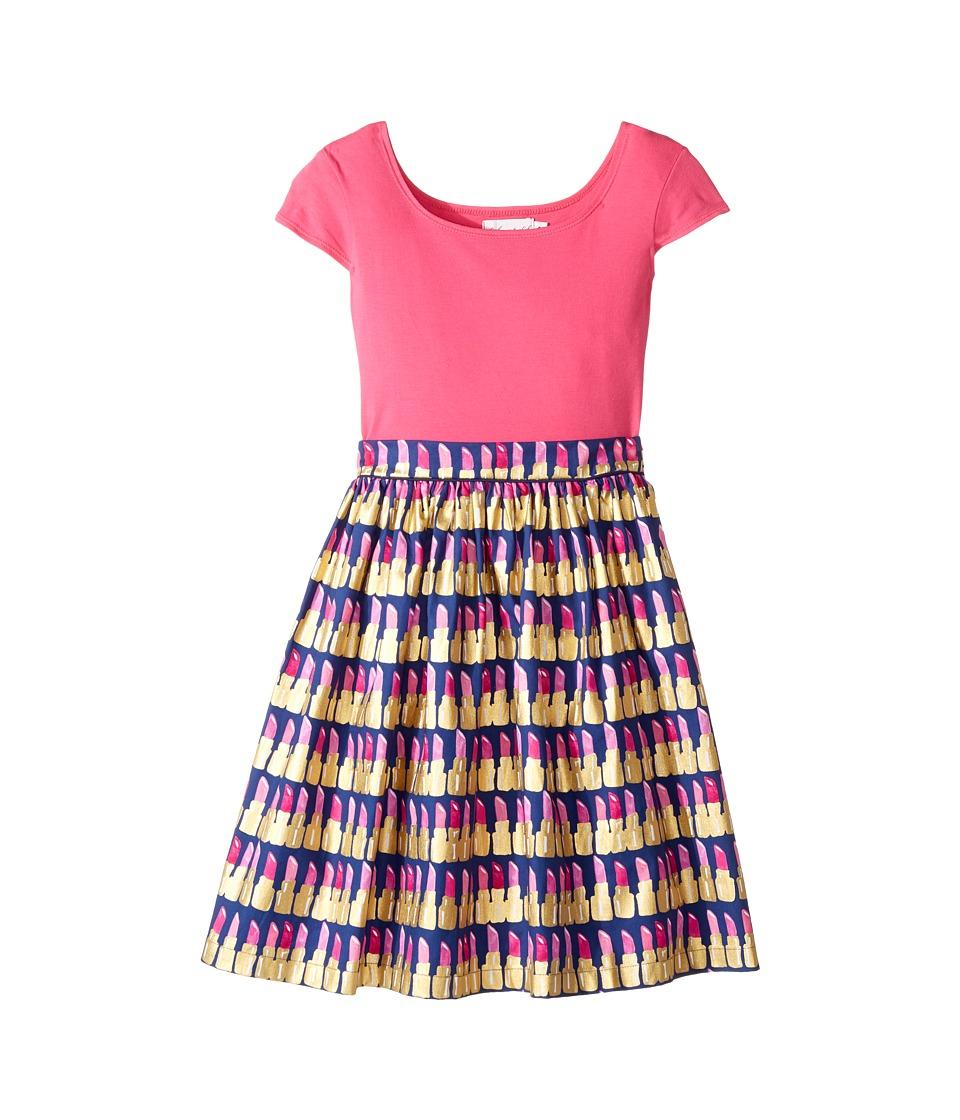 fiveloaves twofish - Maddy Lipstick Dress (Little Kids/Big Kids) (Hot Pink) Girl's Dress