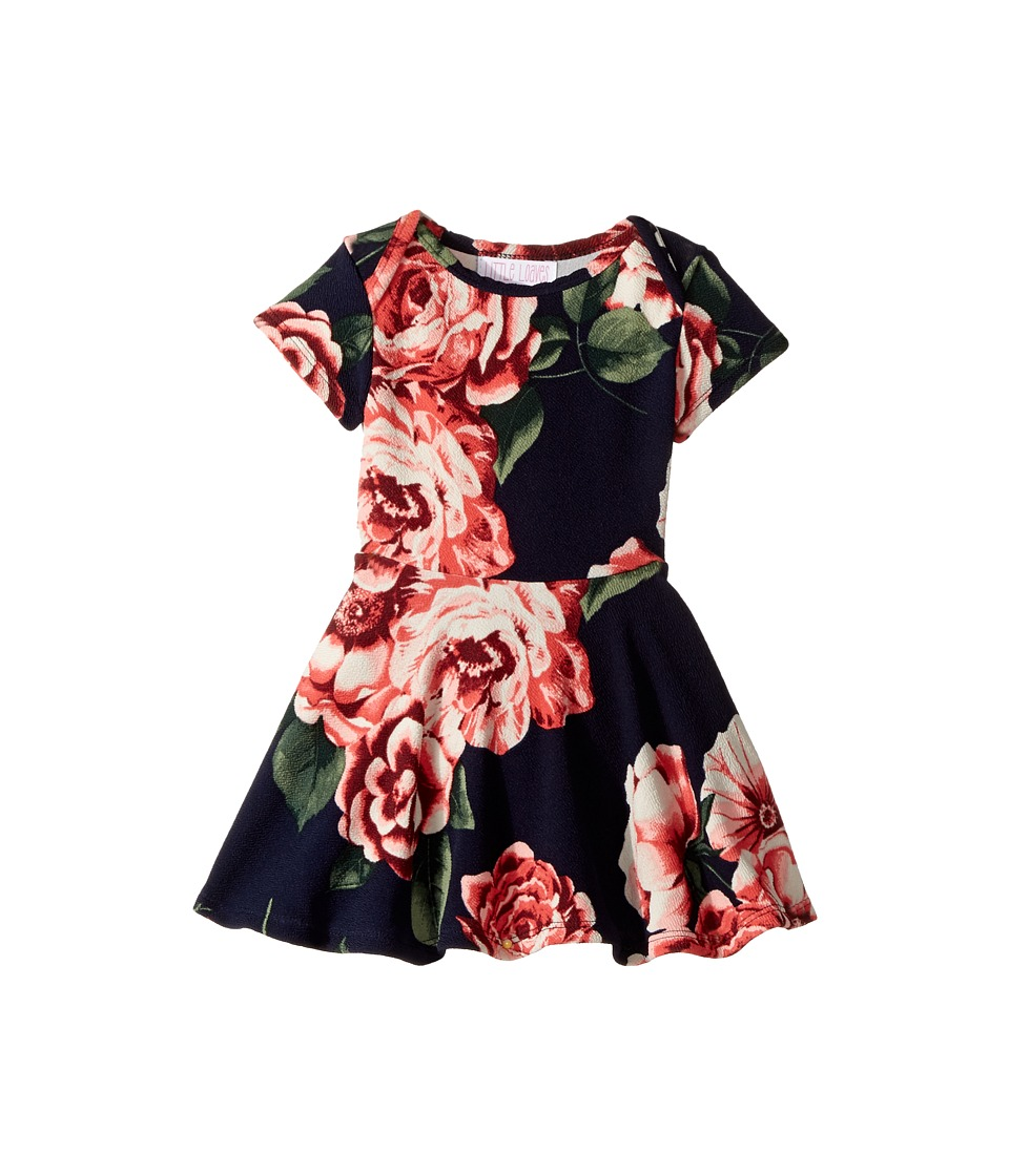 fiveloaves twofish - Blooming Play Dress (Infant) (Navy) Girl's Dress