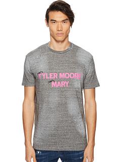 [ 降价25% ] D二次方 DSQUARED2 Tyler Moore Mary T-Shirt