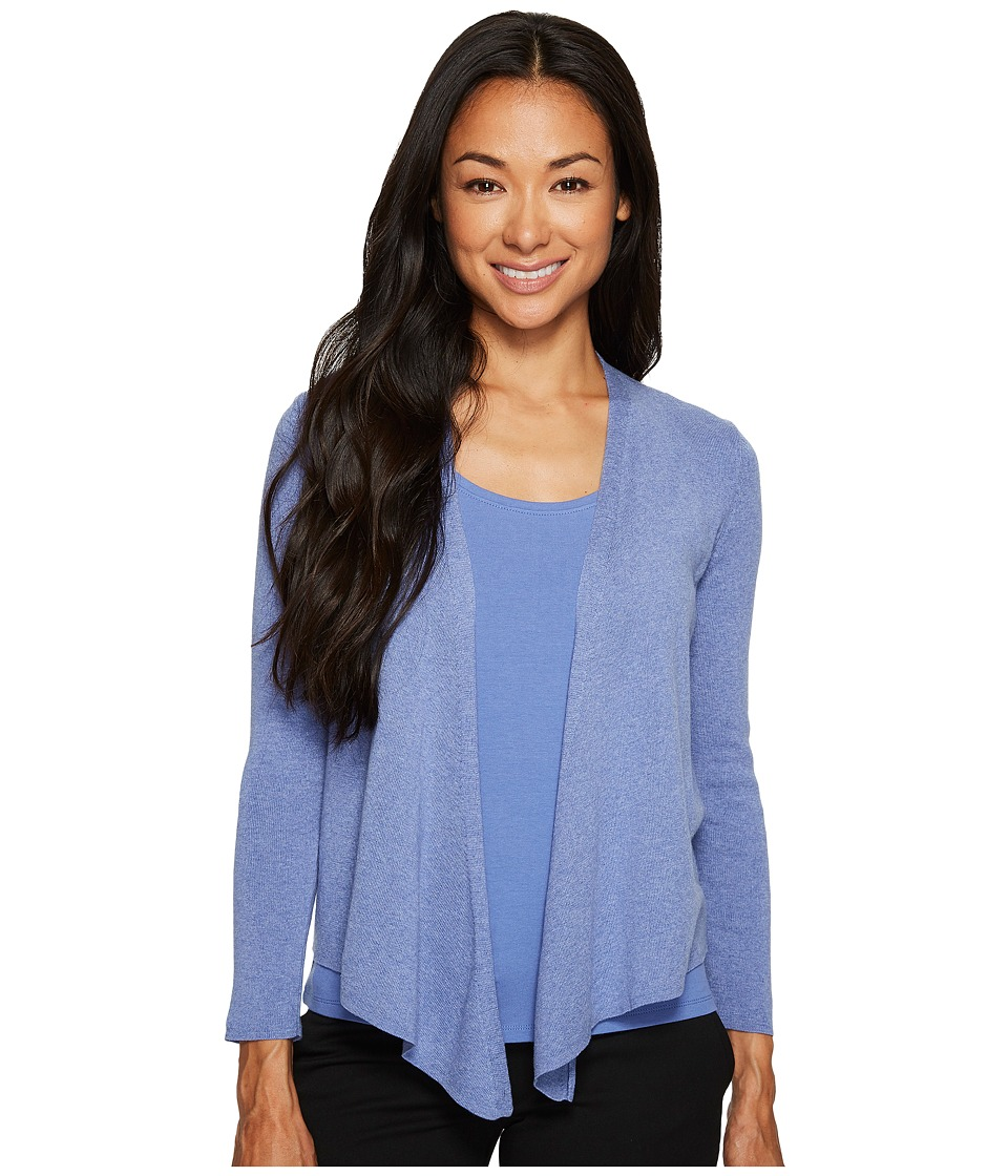 NIC+ZOE - Petite 4 Way Cardy (Cornflower) Women's Sweater