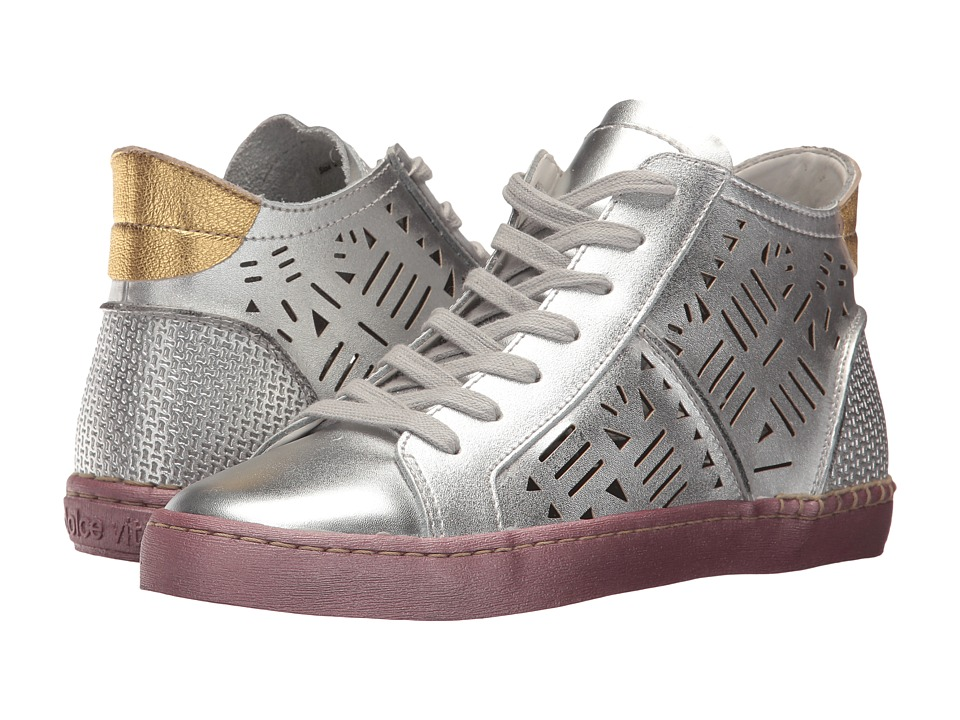 Dolce Vita - Zeus (Silver Leather) Women's Shoes