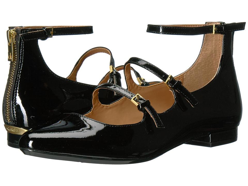 Calvin Klein Gavinia (Black Patent) Women