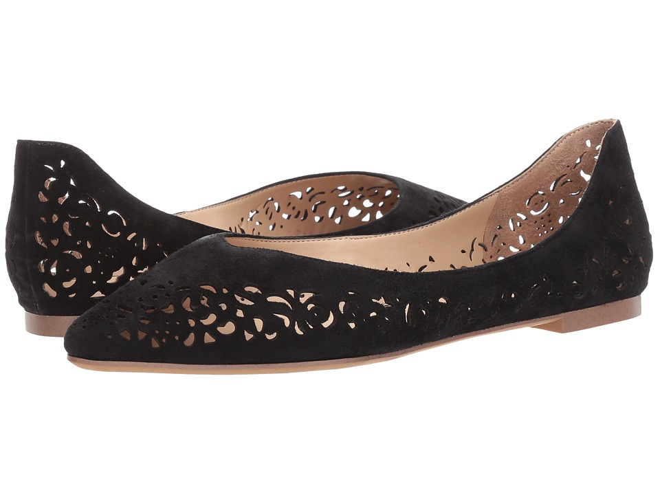 Franco Sarto - Sabana (Black Suede) Women's Shoes