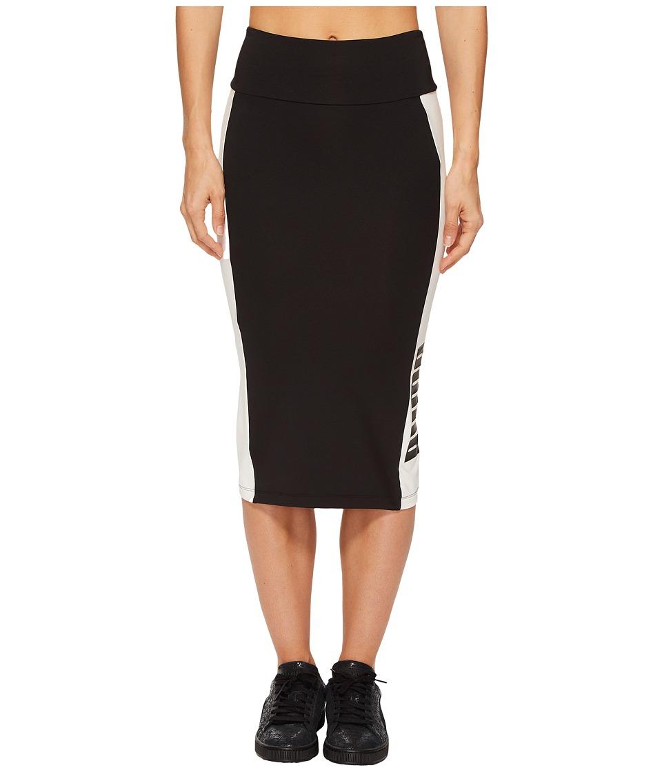 PUMA Archive Logo Pencil Skirt (PUMA Black) Women
