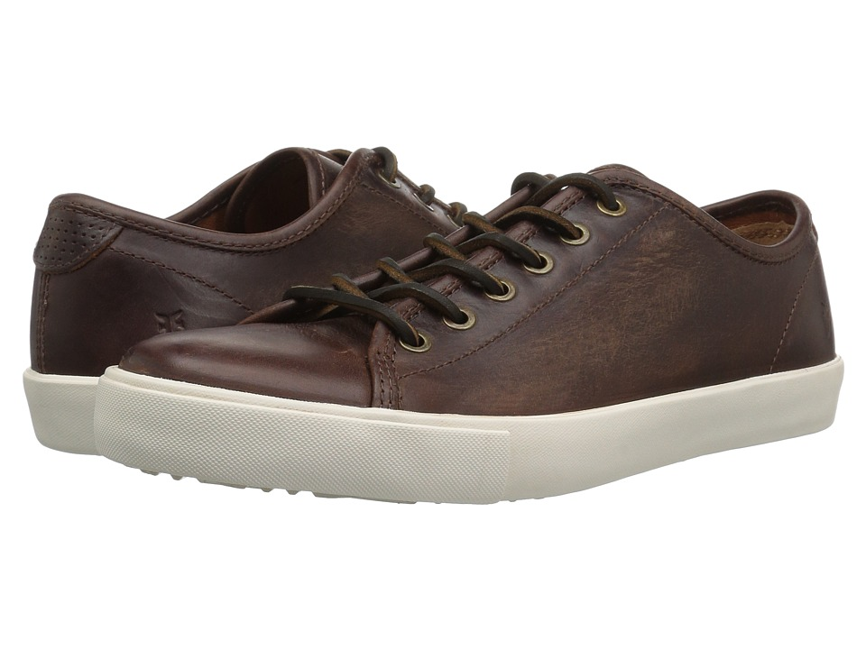 Frye Brett Low (Redwood Washed Smooth Pull Up) Men