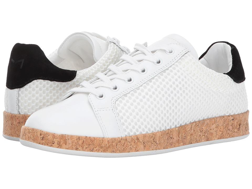 Marc Fisher LTD - Renae (White/White/Black) Women's Shoes