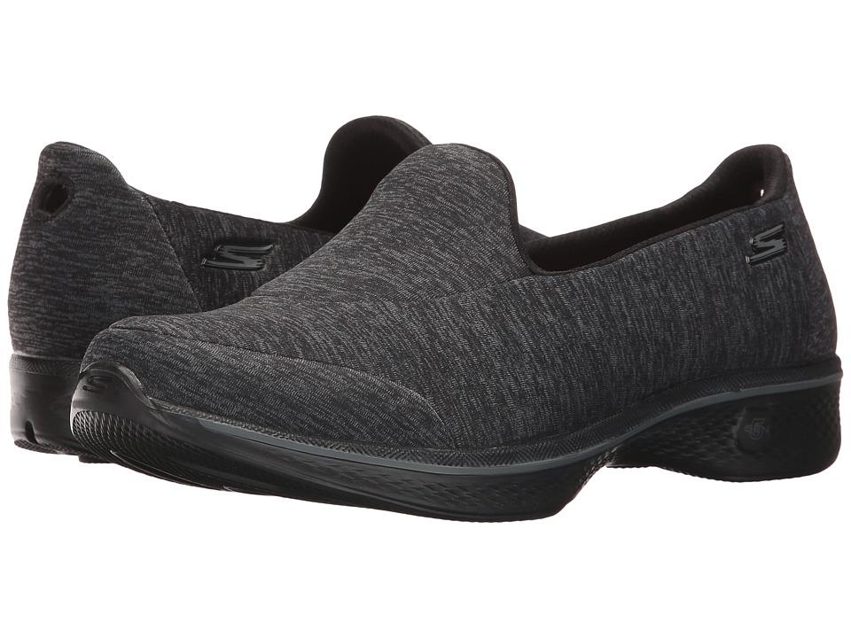 SKECHERS Performance - Go Walk 4 - Astonish (Black) Women's Shoes