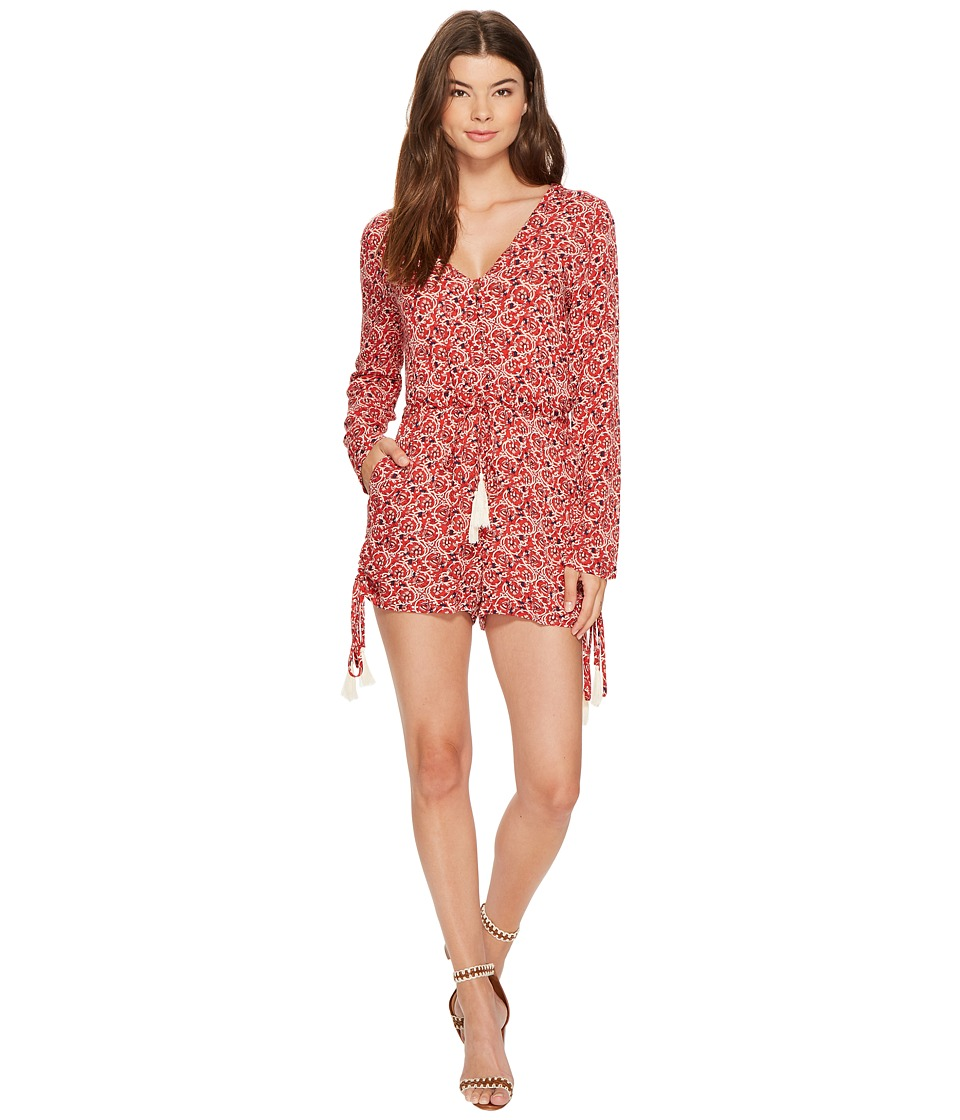 MINKPINK - Wanderlust Playsuit (Multi) Women's Jumpsuit & Rompers One Piece