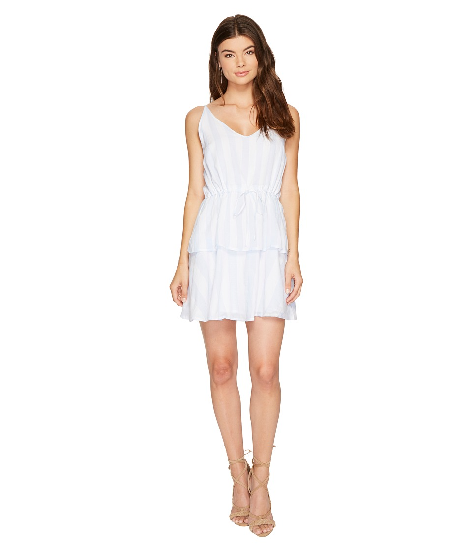 MINKPINK - Dreamer Dress (White/Blue) Women's Dress