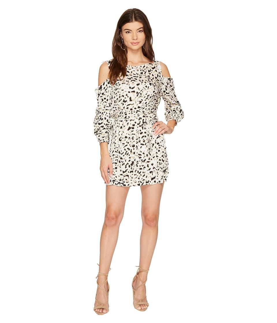 MINKPINK Sumatran Cold Shoulder Dress (Multi) Women