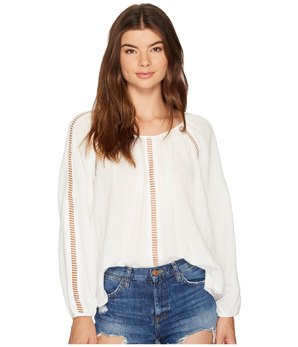 MINKPINK - Jaded Blouse (Off-White) Women's Blouse