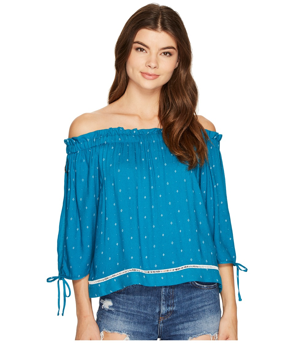 MINKPINK - Stargazer Off Shoulder Top (Multi) Women's Clothing