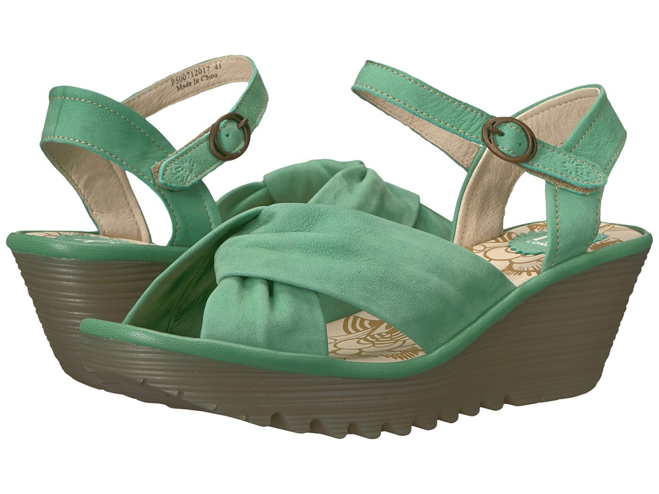 FLY LONDON - Yesh712Fly (Mint) Women's Shoes