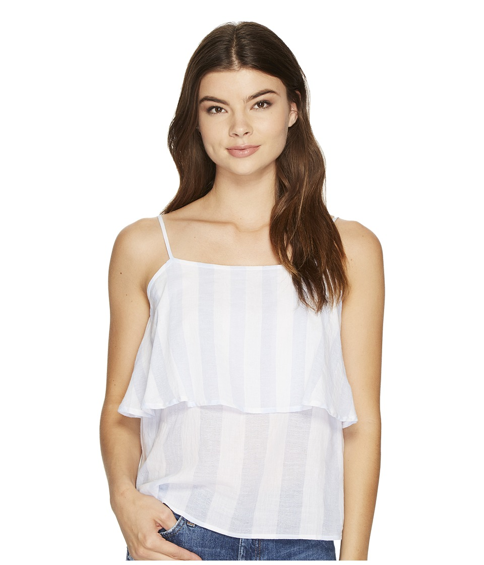 MINKPINK - Dreamer Cami (White/Blue) Women's Sleeveless