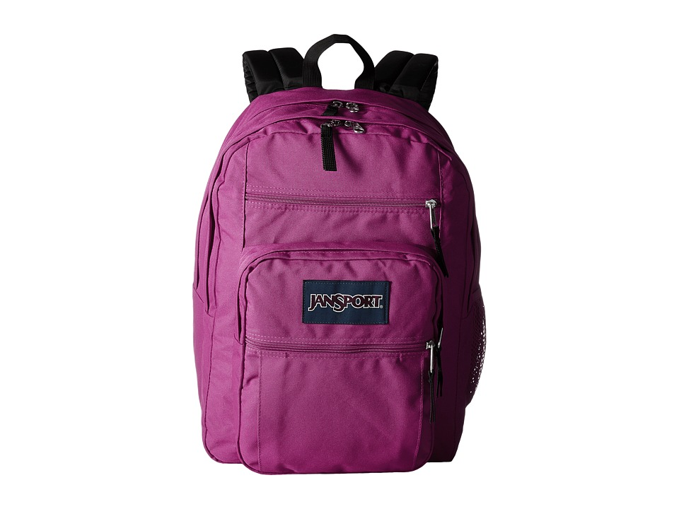JanSport - Big Student (Cyber Pink) Backpack Bags