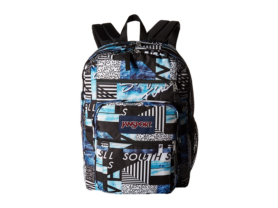 JanSport - Big Student (Multi South Swell) Backpack Bags