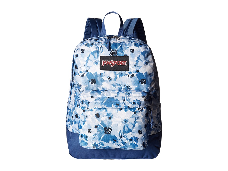 JanSport - Black Label SuperBreak (Multi Turkish Dutch Floral) Backpack Bags