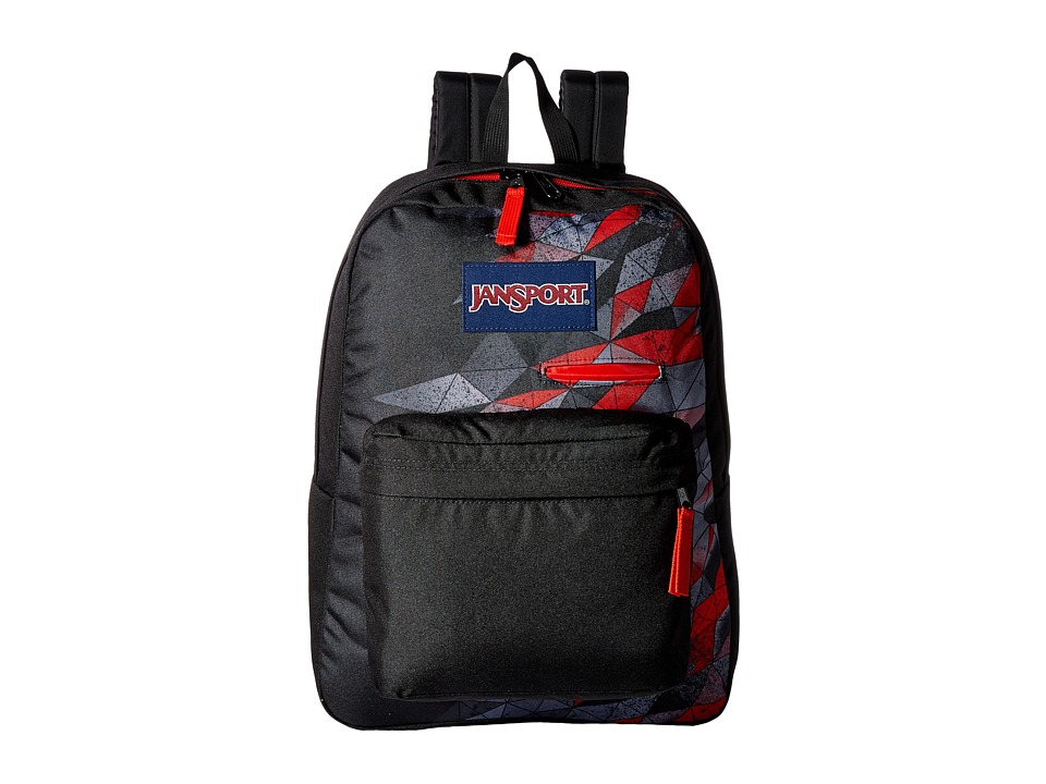 JanSport - Digibreak (Multi 3D Wave) Backpack Bags