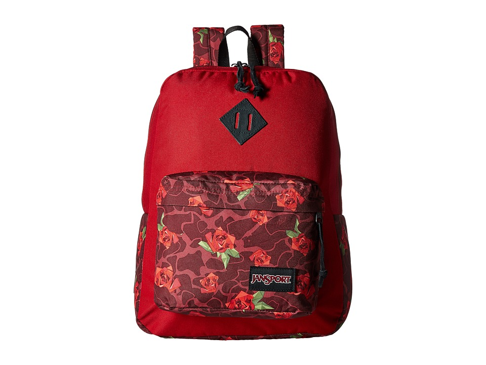 JanSport - Super FX (Multi Rose Camo) Backpack Bags