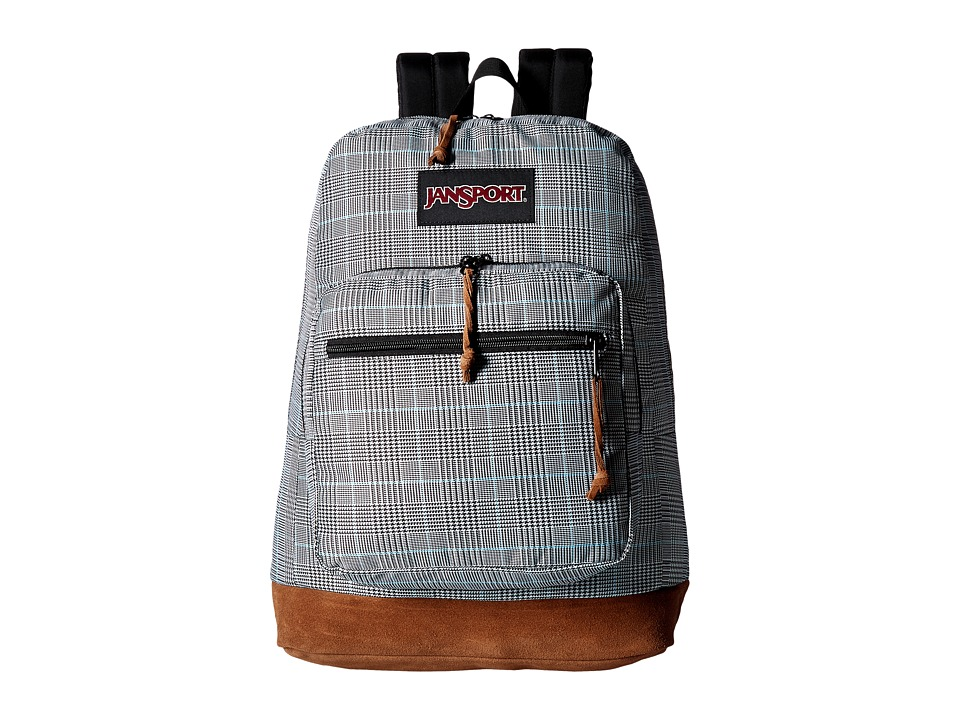 JanSport - Right Pack Digital Edition (Black/White Suited Plaid) Backpack Bags