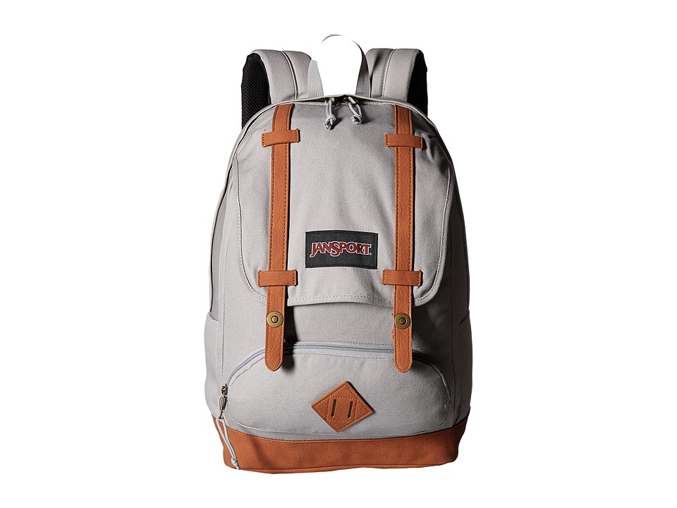 JanSport - Baughman (Grey Rabbit Canvas) Backpack Bags