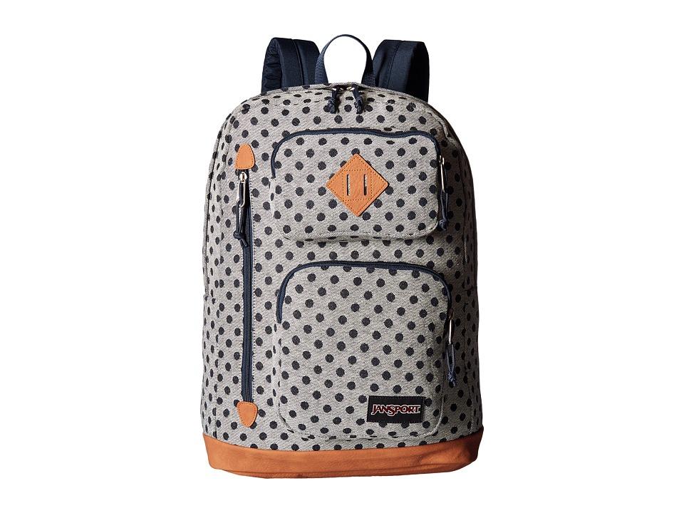 JanSport Houston (Silver Twiggy Dot) Backpack Bags