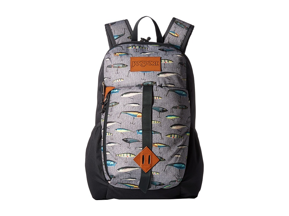 JanSport - Hawk Ridge (Multi Fishing Lures) Backpack Bags
