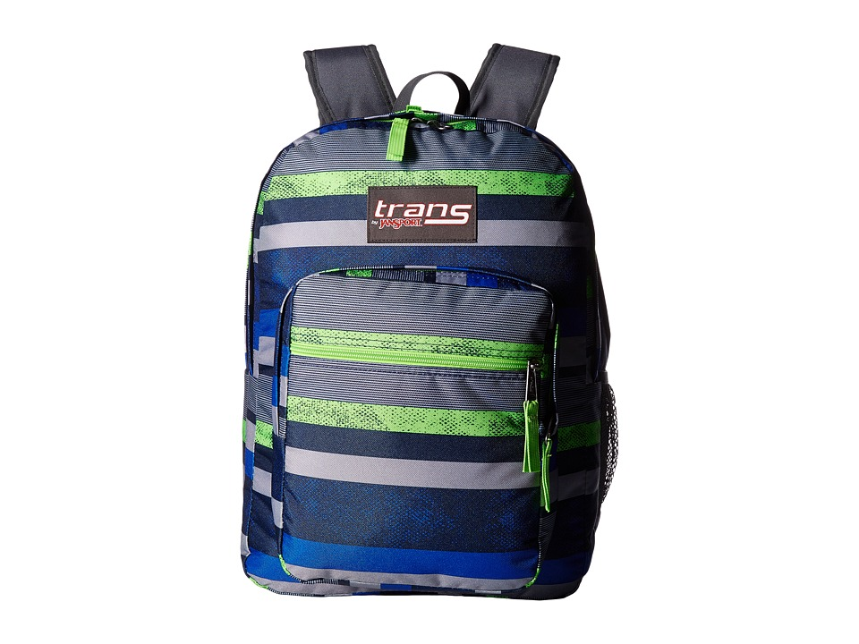 JanSport - Supermax (Navy Moonshine/Orange) Backpack Bags