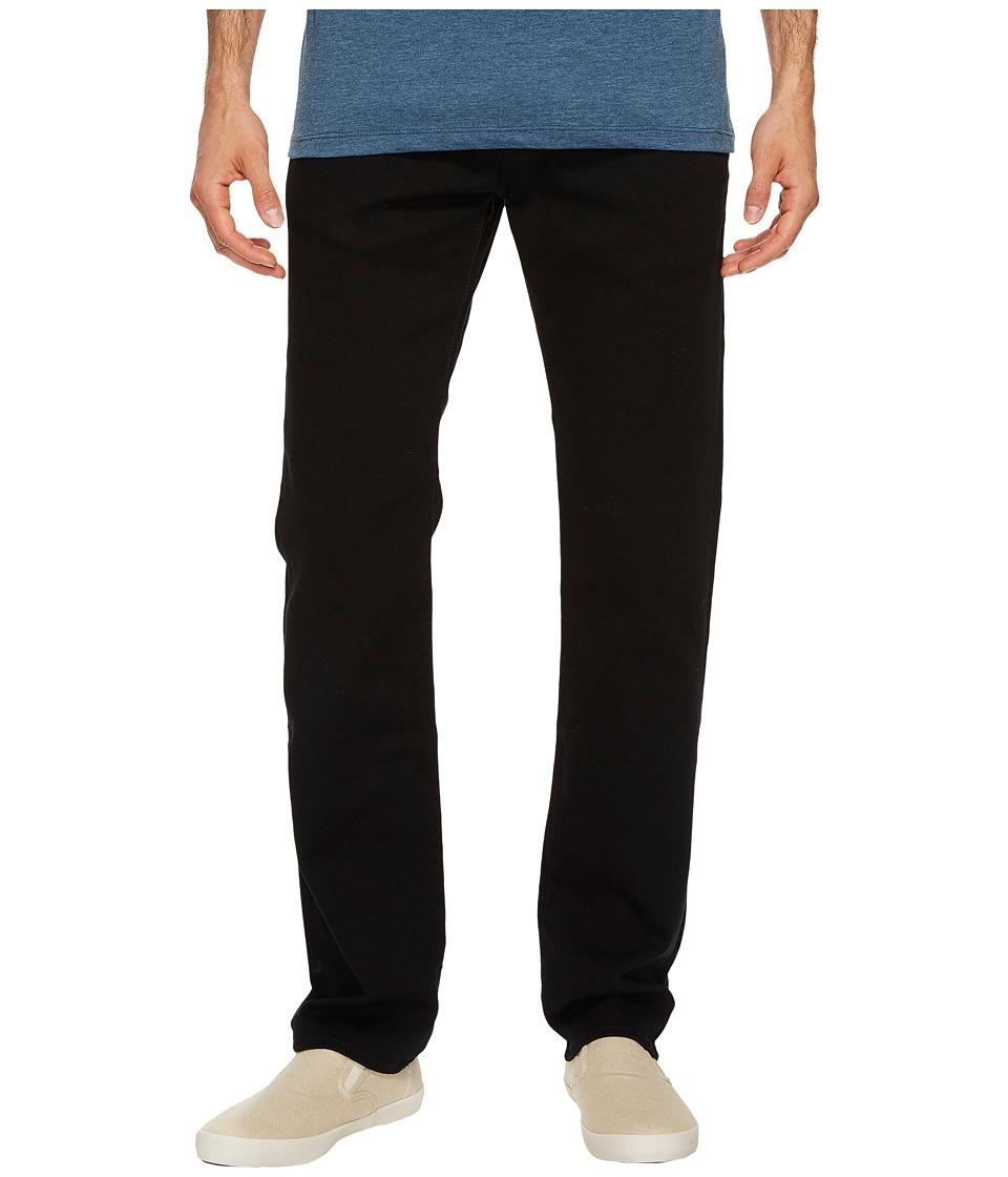 U.S. POLO ASSN. Five-Pocket Slim Straight Denim Jeans in Black (Black) Men