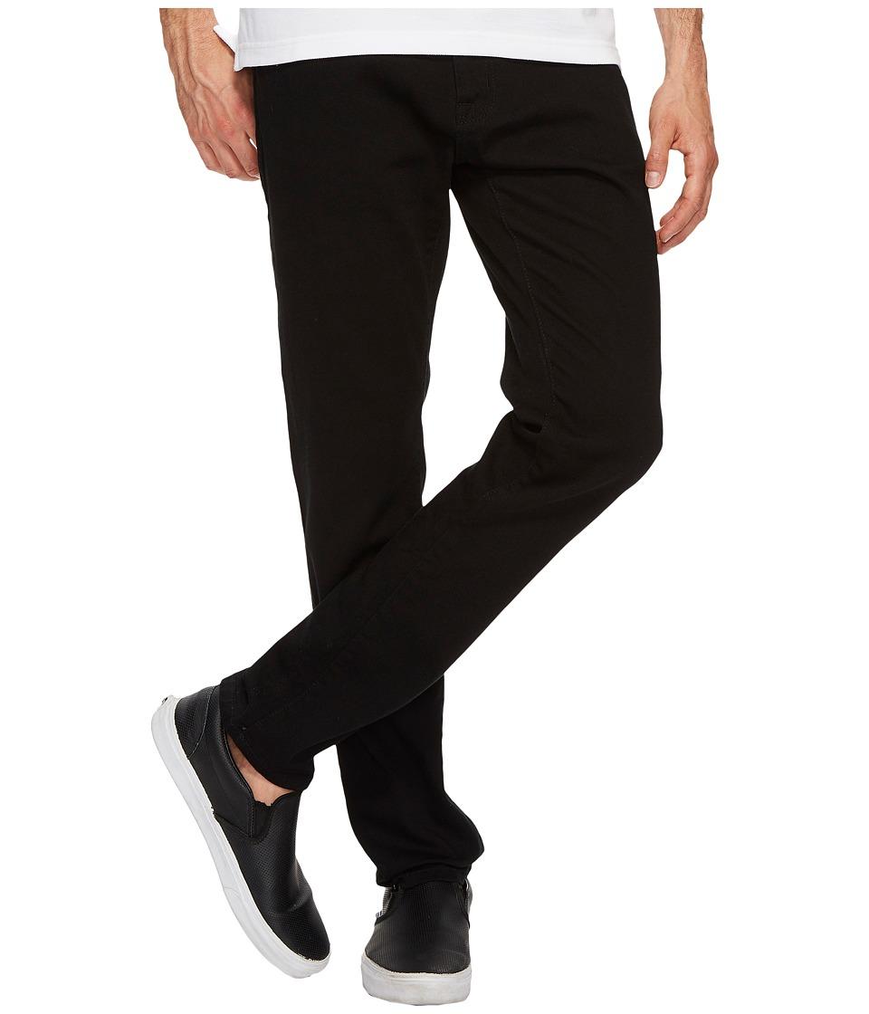 U.S. POLO ASSN. Five-Pocket Slim Denim Jeans in Black (Black) Men
