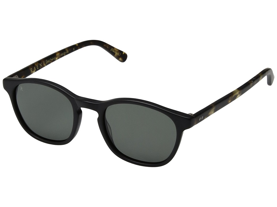 RAEN Optics - St. Malo (Matte Black/Brindle) Fashion Sunglasses