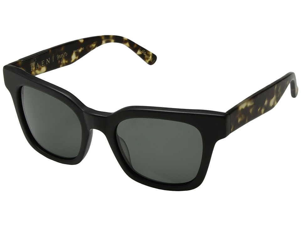 RAEN Optics - Myer (Matte Black/Matte Brindle) Fashion Sunglasses