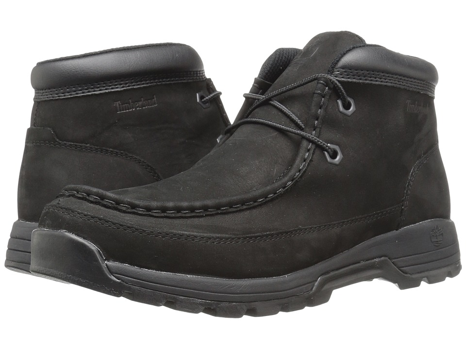 Timberland - Stratmore Moc Toe (Black) Men's Boots