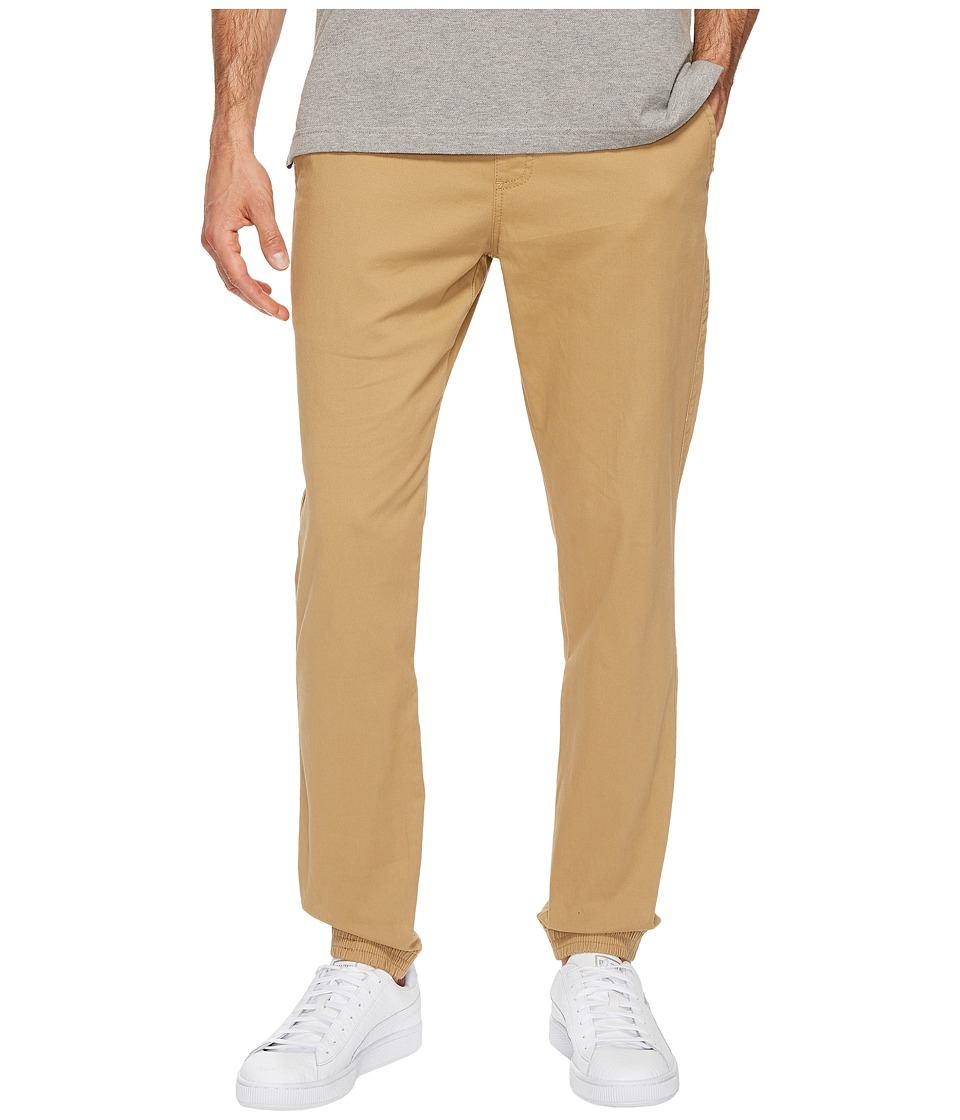 U.S. POLO ASSN. - Stretch Twill Jogger Pants (Honey) Men's Casual Pants