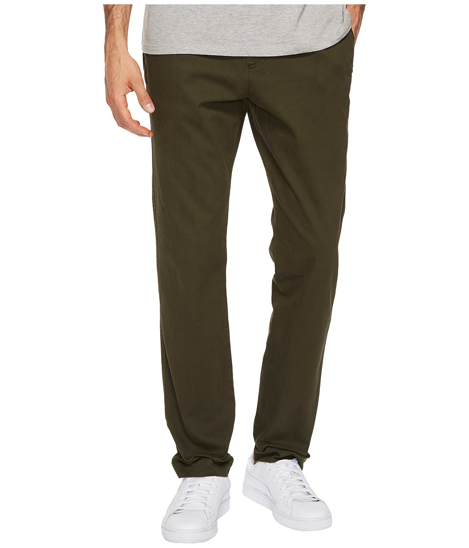 U.S. POLO ASSN. - Stretch Twill Jogger Pants (Forrest Ranger) Men's Casual Pants