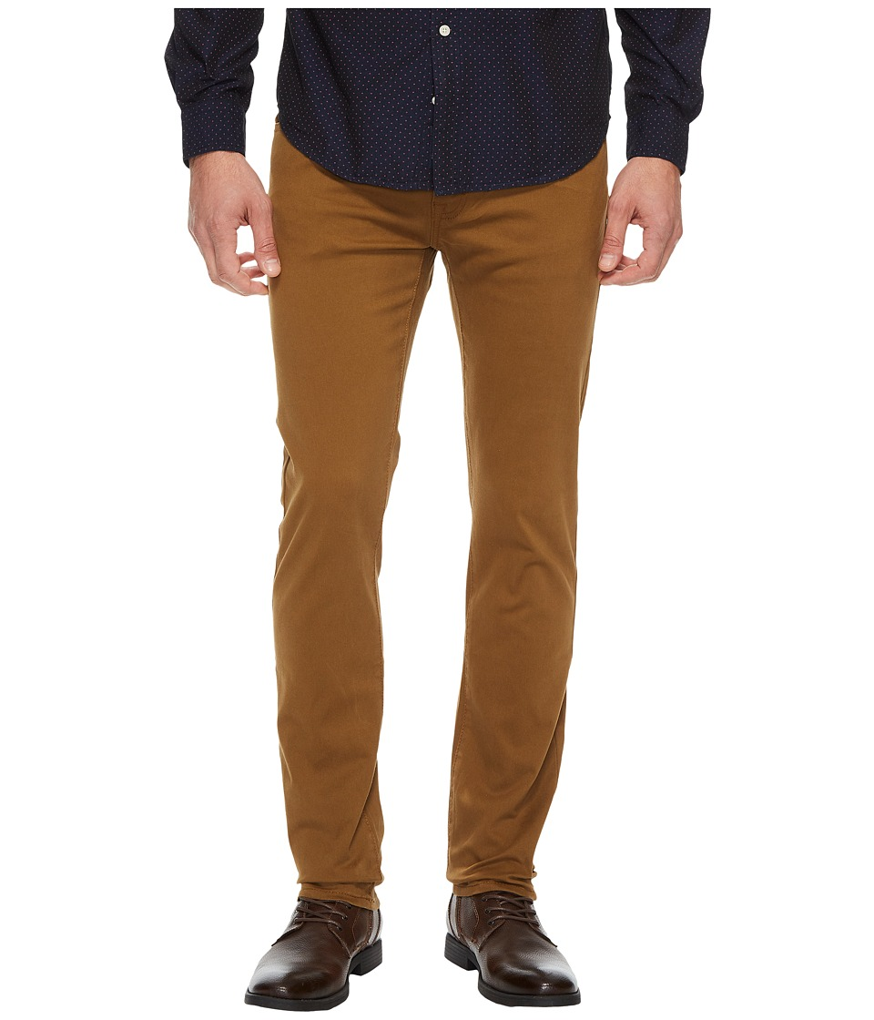 U.S. POLO ASSN. - Five-Pocket Slim Stretch Twill Pants (Mad Khaki) Men's Casual Pants