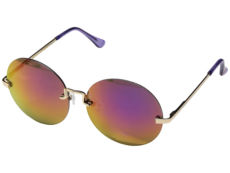 Betsey Johnson - BJ475122 (Gold/Purple) Fashion Sunglasses