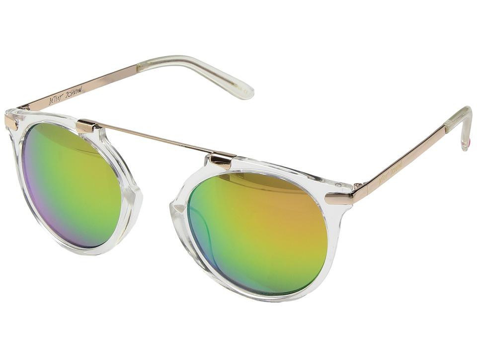 Betsey Johnson - BJ875132 (Clear) Fashion Sunglasses