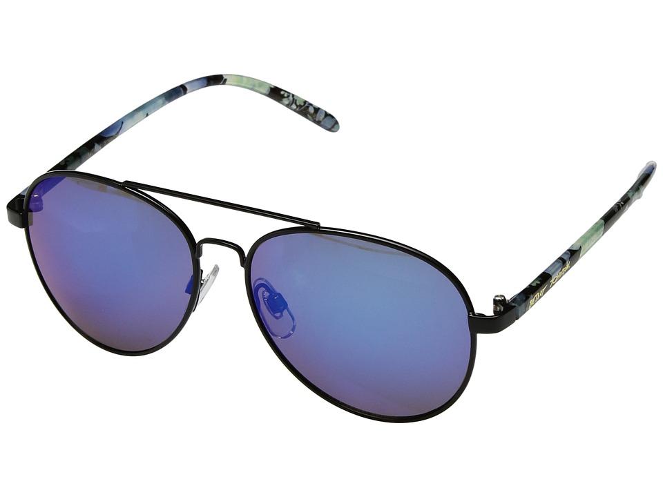 Betsey Johnson - BJ472119 (Black/Blue) Fashion Sunglasses